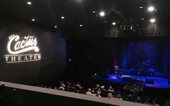 Cactus Theater : Great view from up in the balcony.