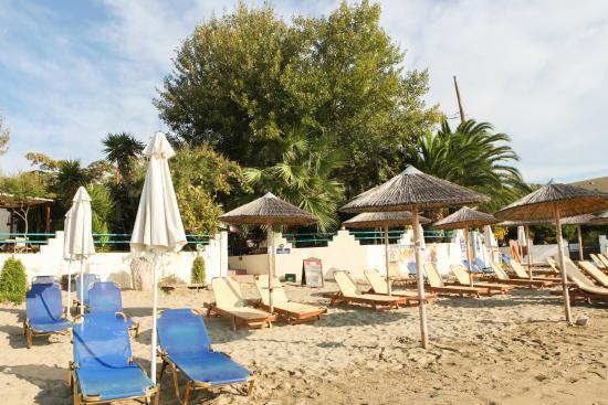 Swell Beach Bar: beach area