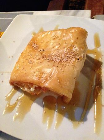 Marco Polo Cafe: feta fritta