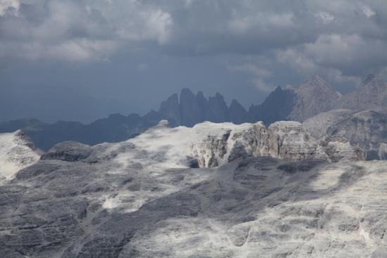 Veduta - Foto di La Terrazza delle Dolomiti, Canazei - TripAdvisor