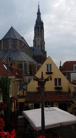 Hotel de Emauspoort: View from our room on top floor