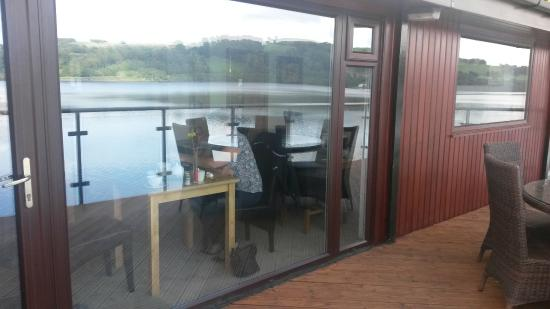 Glan Y Gro - Lakeside Suites: view from dining room