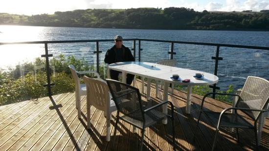 Glan Y Gro - Lakeside Suites: our balcony