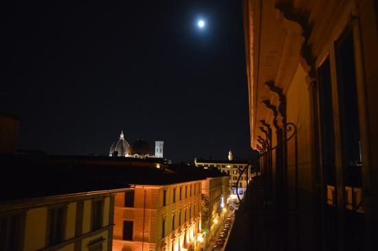 Vista dal balcone della camera - Foto di Soggiorno Isabella ...