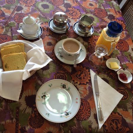 La Casa de Ana: Delicious breakfast