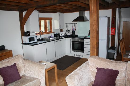 Davidstow, UK: Open plan living/kitchen area