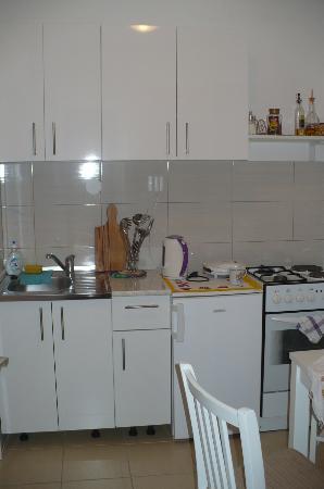 Apartments Abba: Kuchnia