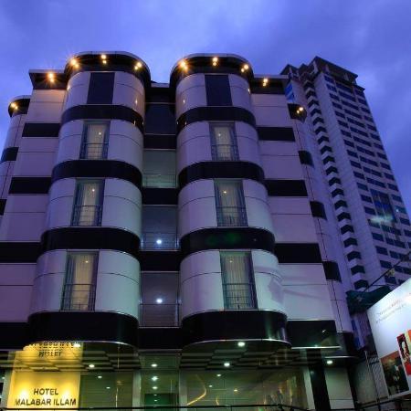 Hotel Malabar Illam : NH side...Hotel