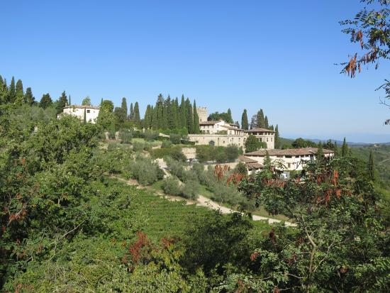 Greve in Chianti, Italie : The Castillo