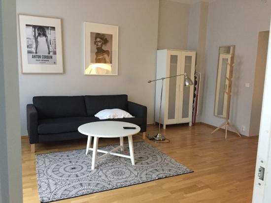 Oslo Apartments: リビング