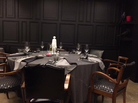 Auberge du Paradis: le restaurant