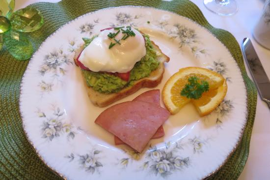 Colby House Bed & Breakfast: Morgenessen