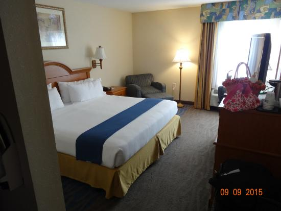 Holiday Inn Express New Bern: HIE Room 227, New Bern, NC