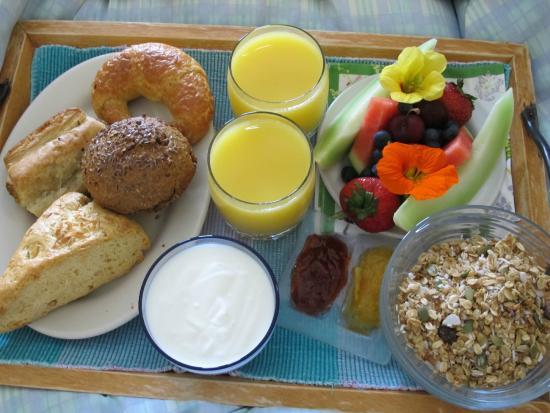Meares Retreat Bed & Breakfast: Frühstück