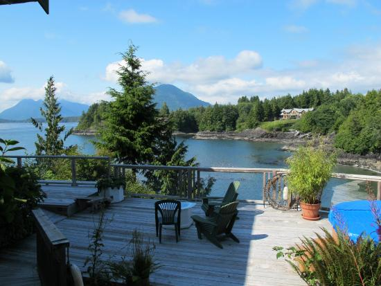 Bed And Breakfast Tofino Hot Tub
