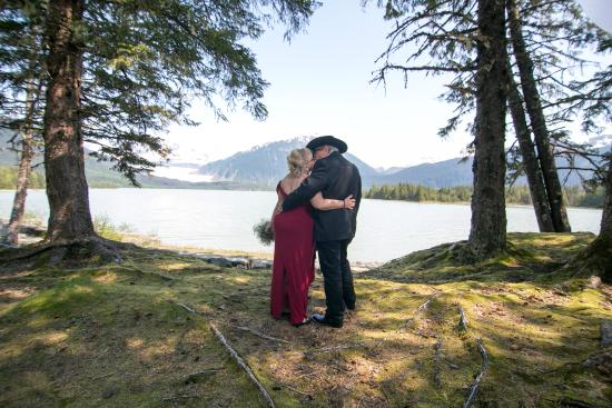 Pearson's Pond Luxury Inn and Adventure Spa: Wedding at the Mendenhall Glacier, May 2015