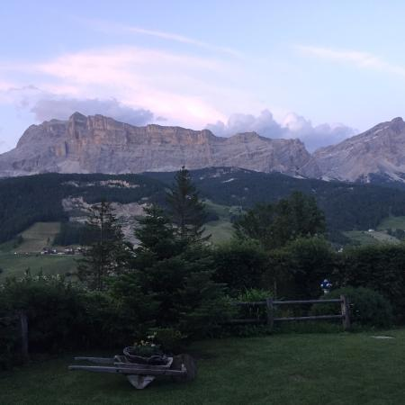 Hotel Lech da Sompunt : View from the lawn