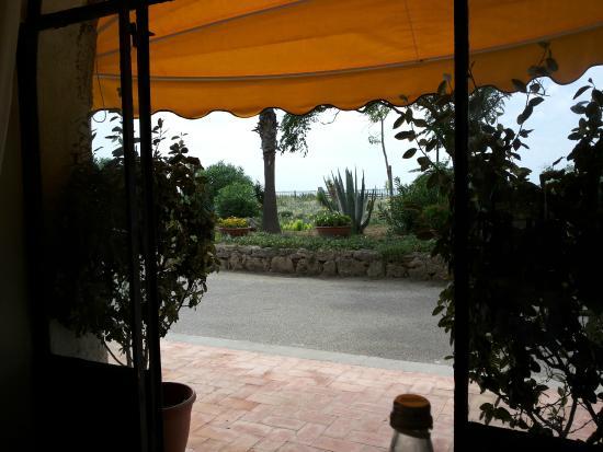 Hotel Laura: veduta dal tavolo del ristorante