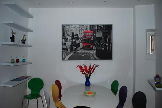 Rent a Room Copenhagen: Area del comedor