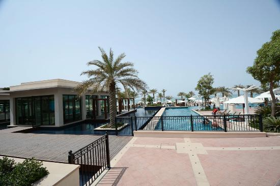 Quiet Adult Section Of The Pool Picture Of The St Regis Saadiyat Island Resort Abu Dhabi