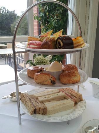 tiered serving tray picture of the dining room at chewton glen rh tripadvisor com