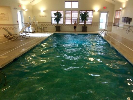 Residence Inn Saratoga Springs: Indoor pool