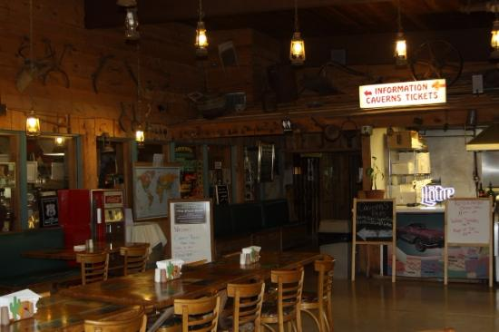 Grand Canyon Caverns Inn: A 1950's time capsule with a diverse and excellent menu.