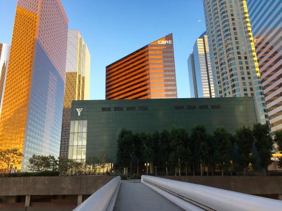 Bridge To Ymca Picture Of The Westin Bonaventure Hotel Suites Los Angeles Tripadvisor