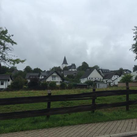 Finnentrop, Allemagne : View from the hotel