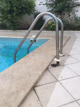 Akdeniz Apart Hotel: zwembadtrap