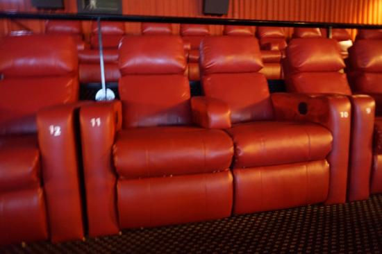 Non reclining position - Picture of Marcus Crosswoods Cinema