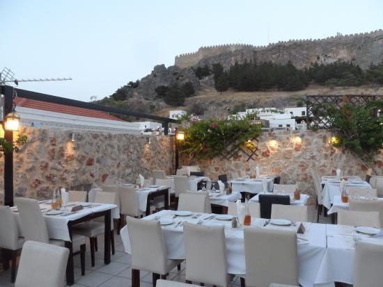 Byzantino Restaurant Lindos 1