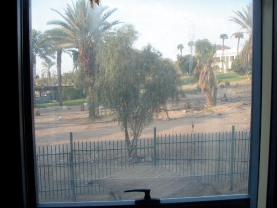 Central Park Eilat: נוף מחלון החדר במלון רימונים סנטראל פארק אילת