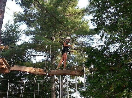 Eaglecrest Aerial Park : Aerial park adventure
