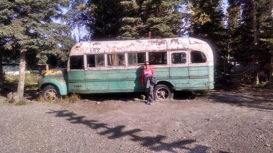 Healy, AK: Chris McKandless' Magic Bus