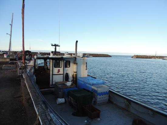 Pointe-Du-Chene wharf