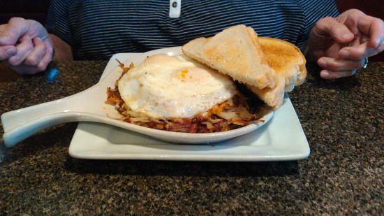 เมานด์สวิว, มินนิโซตา: Southwestern Omelet/Skillet.