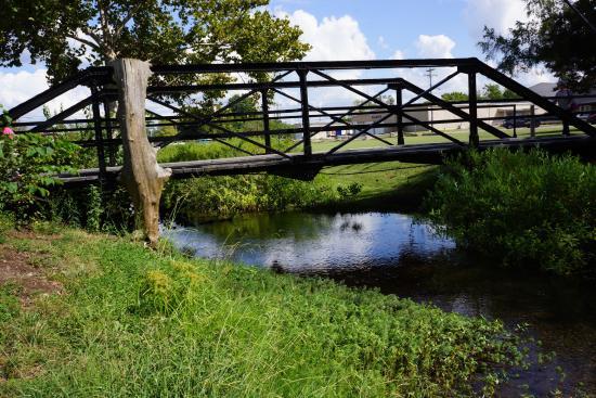 Cannonsburgh  Village: IRON FOOT BRIDGE