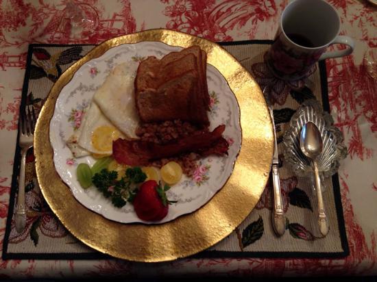 Breakfast at Rose Arden B&B