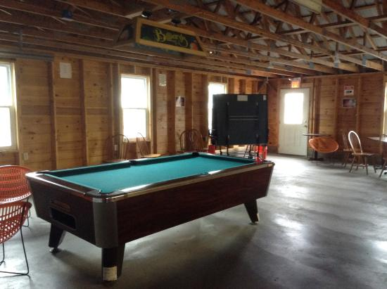 Old Orchard Beach Campground : Activity room
