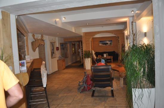 Hotel Les Campanules: Lobby