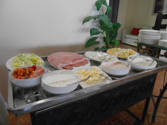 Mina Hotel: el desayuno
