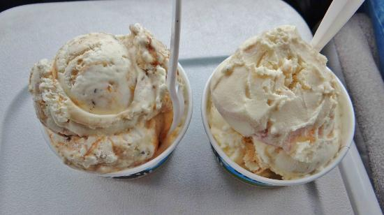 Ben & Jerry's : Coconut 7-Layer Bar & Banana Peanut Butter Frozen Yogurt