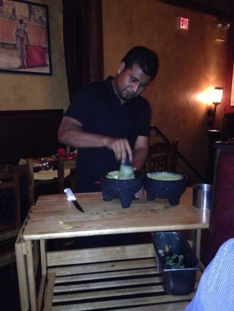 ‪‪Wayne‬, بنسيلفانيا: Table side guacamole‬