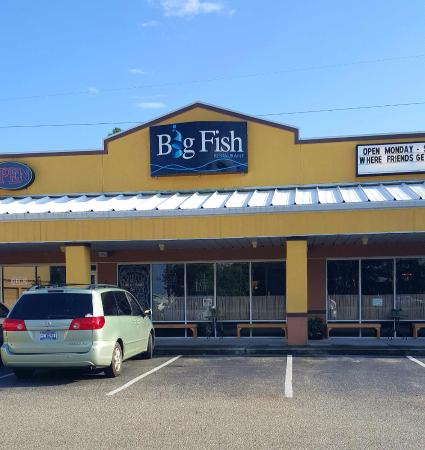 picture of big fish restaurant bar orange