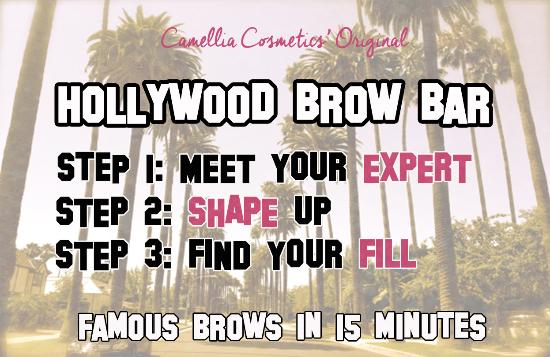 Camellia Cosmetics: South Bends Best Brows!