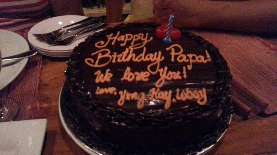 Tremendous Birthday Cake Rich Moist Chocolate Cake Delicioso Picture Personalised Birthday Cards Beptaeletsinfo
