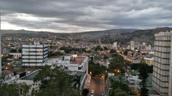 Hotel Plaza JuanCarlos: desde el balcón de la habitación