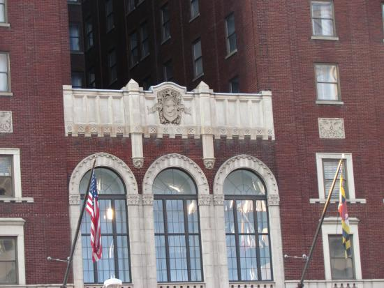 Entrance picture of lord baltimore hotel baltimore for Lord of baltimore hotel