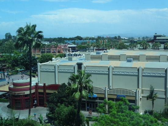 Disneyland Hotel View From Far Right Side Of Adventure Tower Definitely Not A True